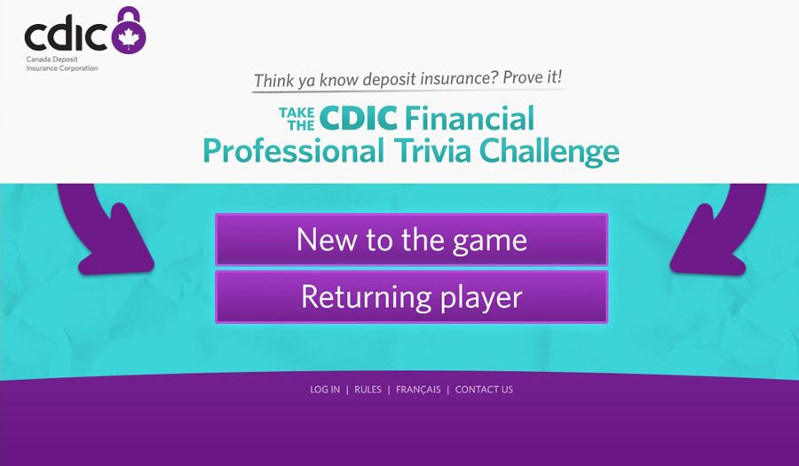 Play CDIC Financial Professional Trivia Challenge