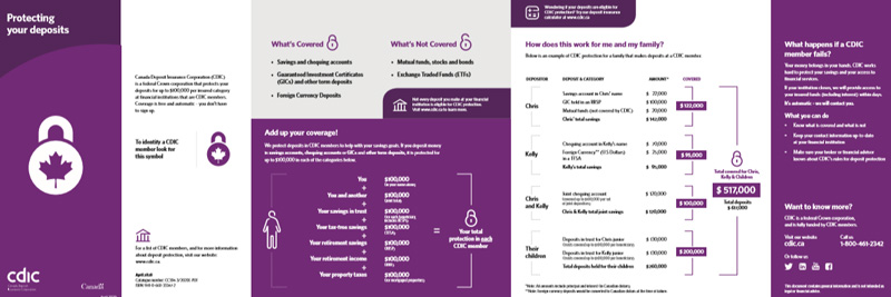 Protecting your deposits brochure